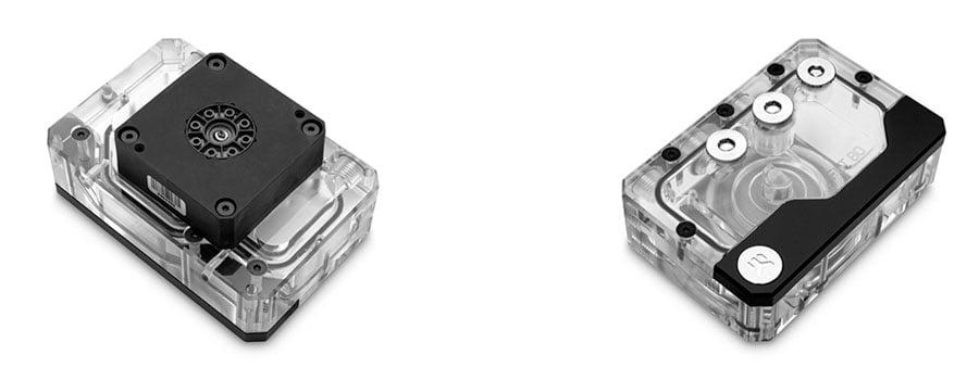 EK Quantum Kinetic FLT 80 SFF DDC - pump-res combo