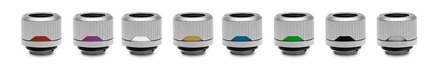 EK-Quantum Torque Satin Titanium Color Rings