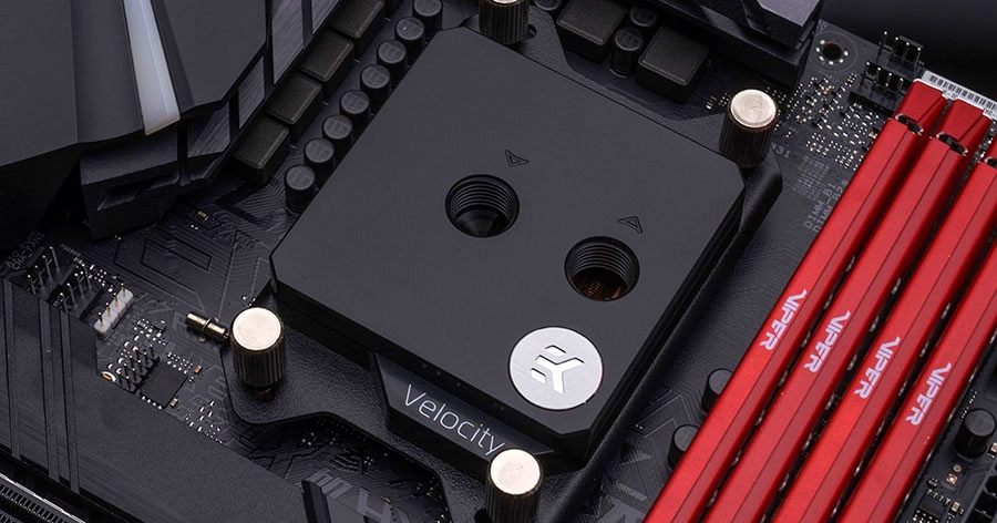EK Velocity water block Copper Acetal