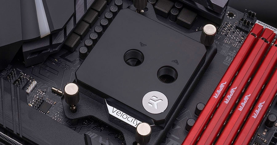 EK Velocity water block Nickel Acetal