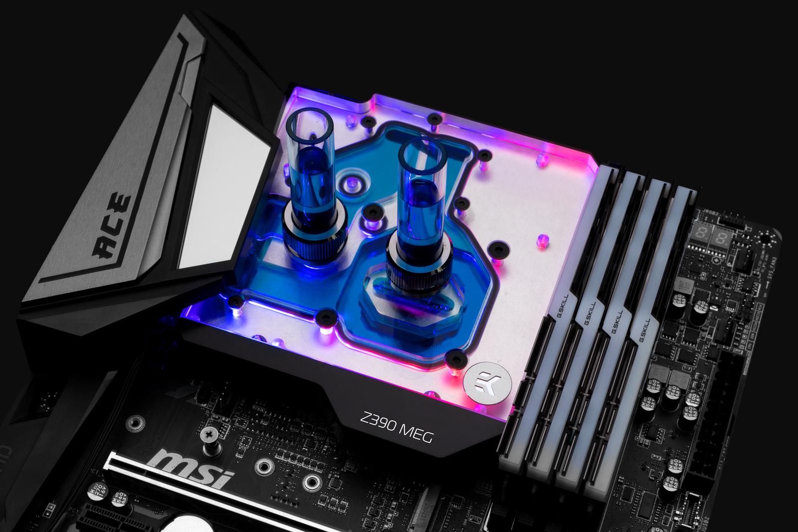 EK-Momentum MSI Z390 MEG Ace D-RGB D-RGB monoblock