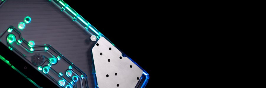 EK-Quantum Reflection distro plate for Lian Li O11 Dynamic