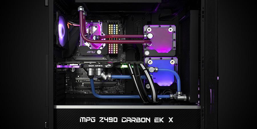EK-Quantum MSI MPG Z490 Carbon EK X
