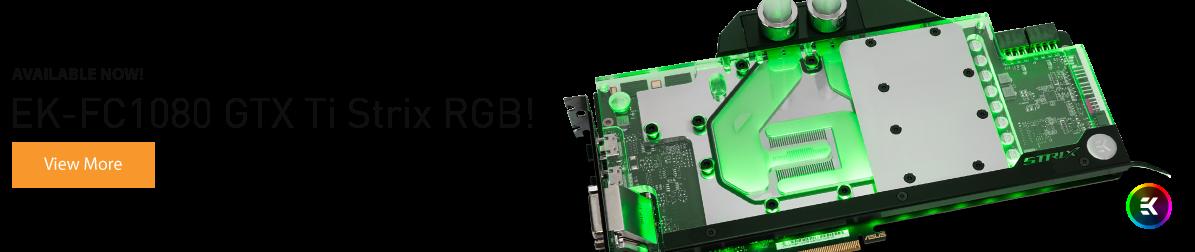EK-FC1080 GTX Ti Strix RGB