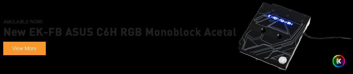 EK-FB ASUS C6H RGB Monoblock
