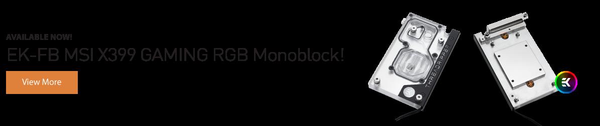 EK-FB MSI X399 GAMING RGB Monoblock