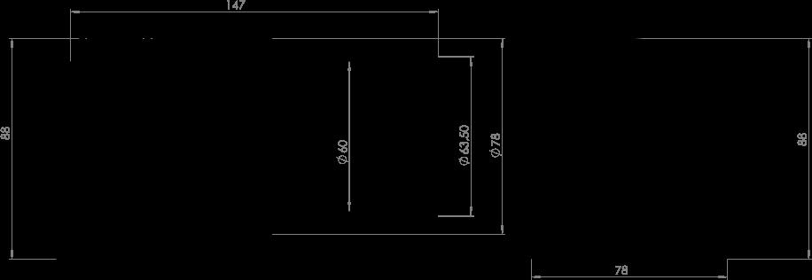 Connecteur Aqua Signal 5-polig Horizontal