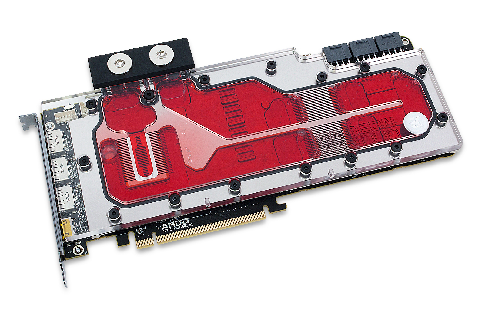 EK releases AMD® RADEON™ Pro Duo Full-Cover water block