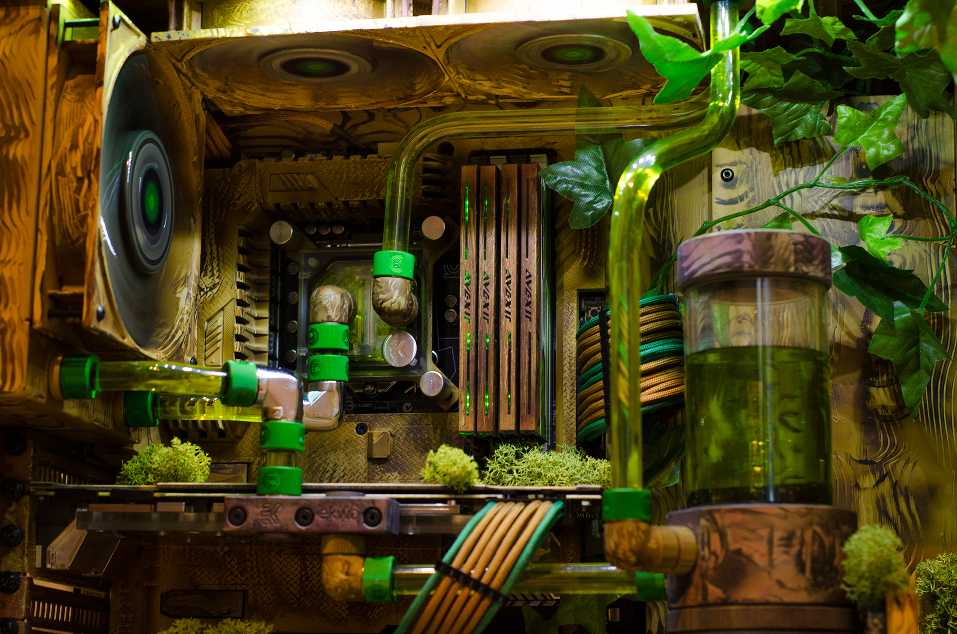 Back To Nature Ivy By Megaskot