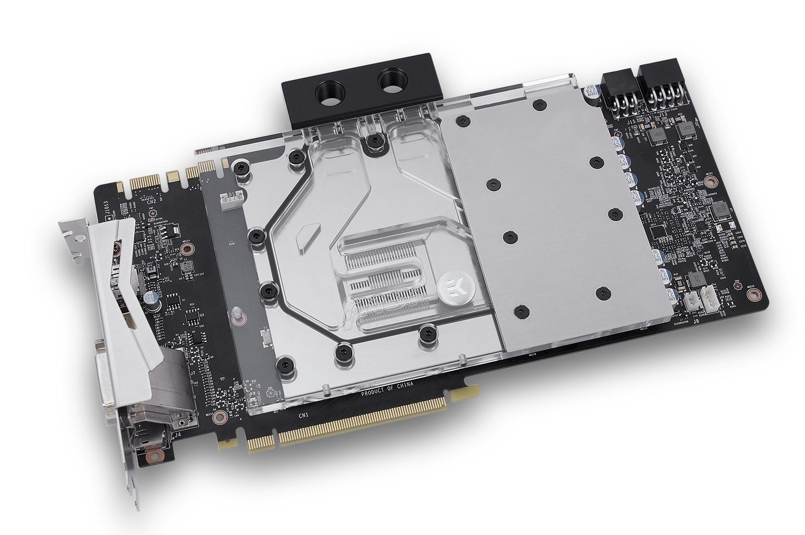 EK releases MSI® GeForce® GTX 1080 TF6 Full-Cover water