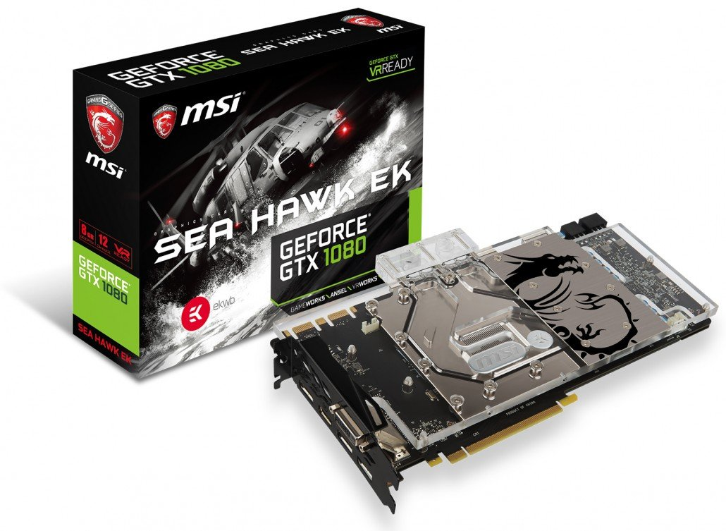 GeForce GTX 1080 SEA HAWK EK