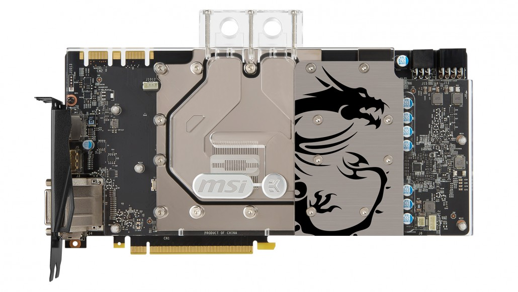 GeForce GTX 1080 SEA HAWK EK block