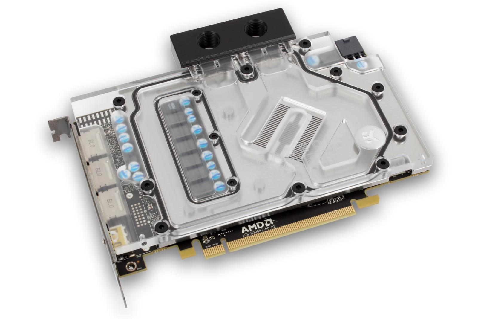 EK releases AMD® Radeon™ RX 480 Full-Cover water block