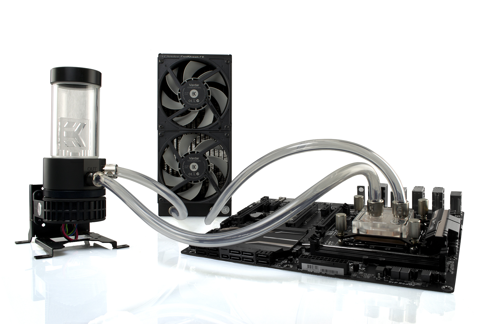 How to choose the right liquid cooling kit? ekwb.com #5A7171