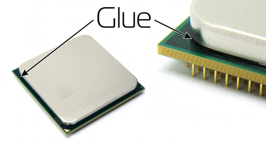 Delidding - glue