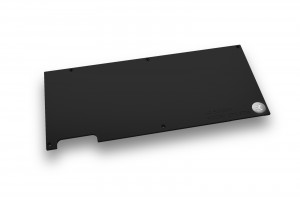 EK-FC1080 GTX FTW_Backplate_Black_Front_1600