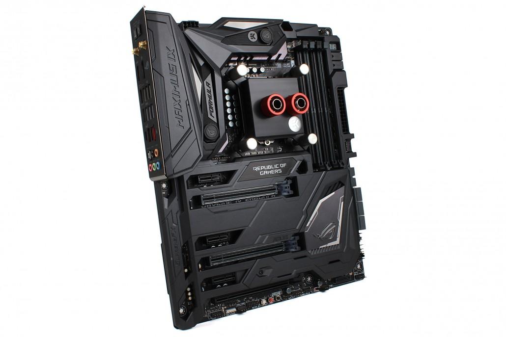 EK announces CrossChill EK II Hybrid cooling block for ASUS® ROG Maximus IX Formula! - ekwb.com