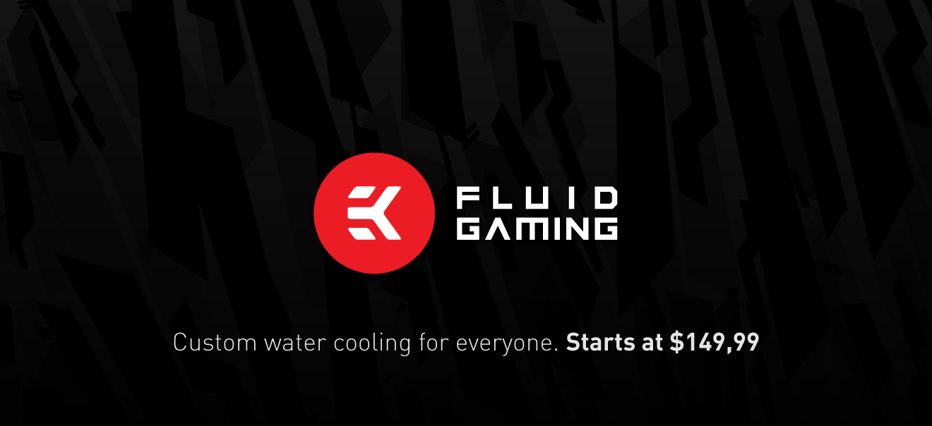 Ek Fluid Gaming Sets A New Standard For Water Cooling 1 Set Pc Gamers Called Bringing The Best Price Performance Ratio Imaginable Its To Change How Is Perceived