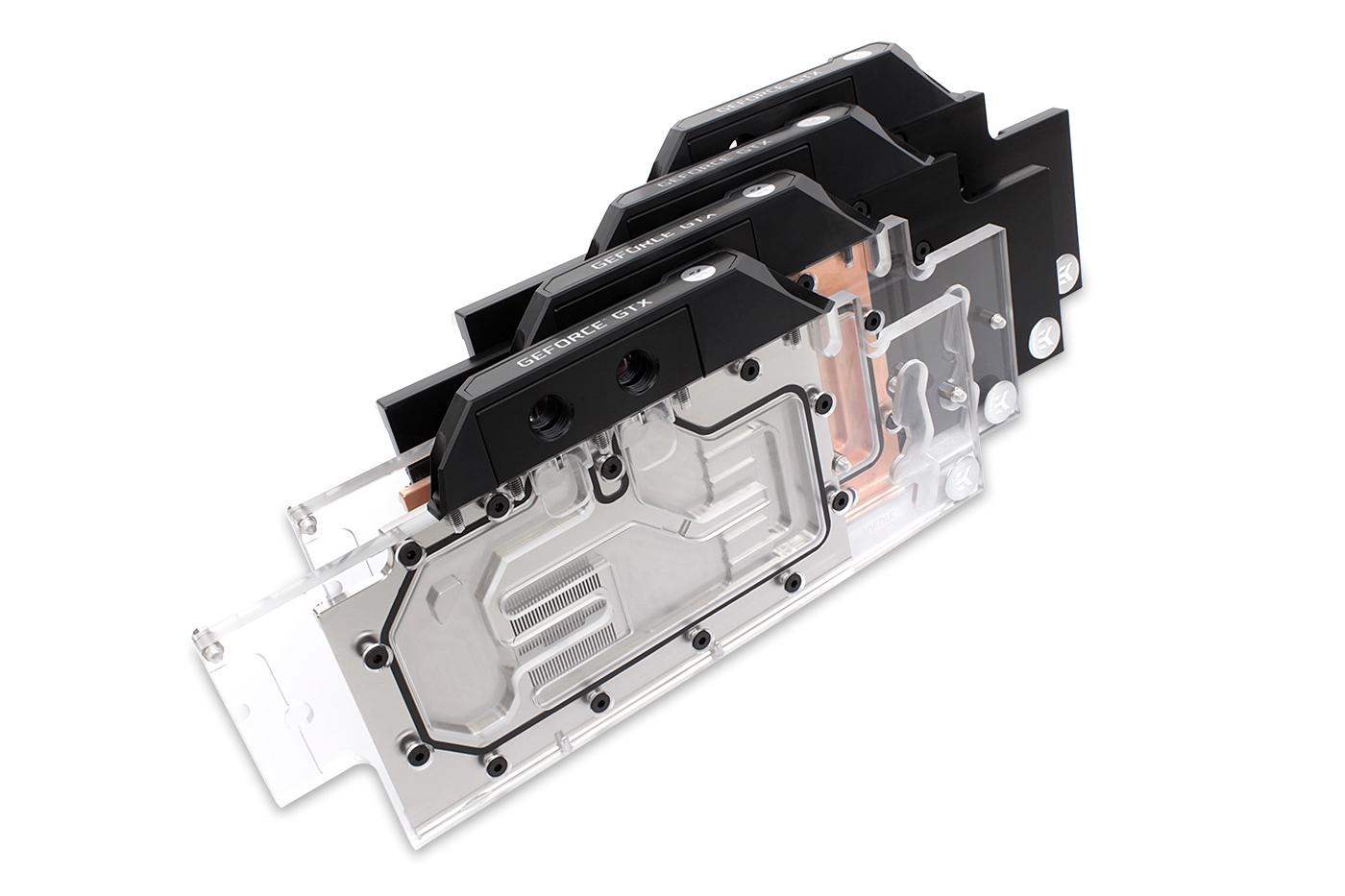 EKWB EK-FC GeForce GTX FE RGB GPU Waterblock Nickel