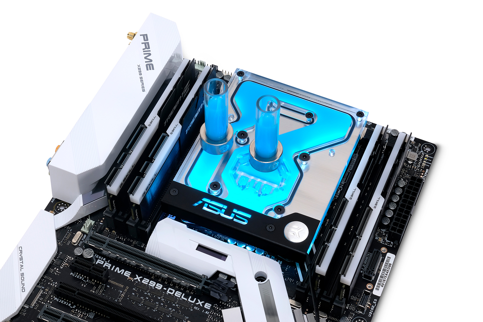 EK is releasing a new RGB monoblock for several ASUS® X299