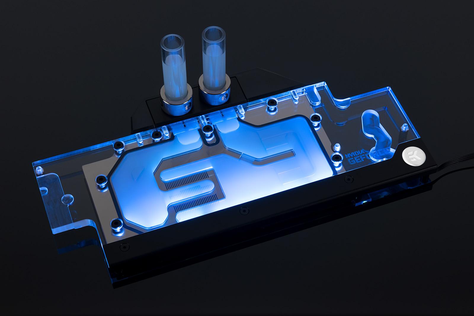 EK® is releasing an RGB water block for NVIDIA® GeForce