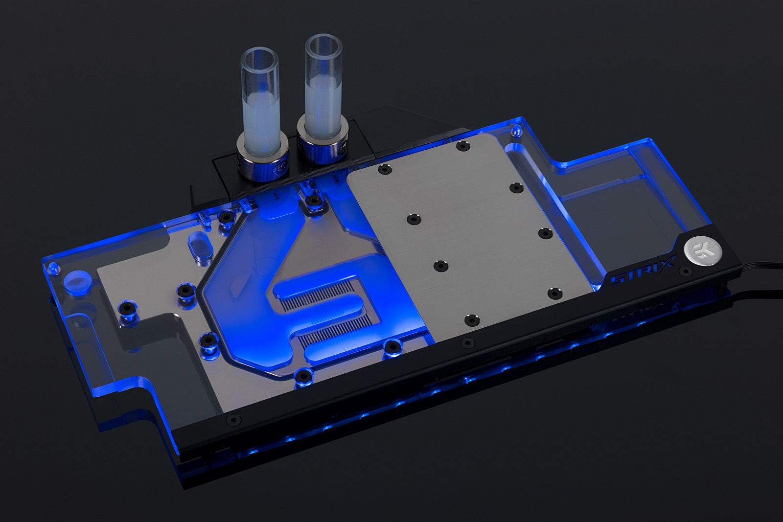 EK® launches an updated RGB Full-Cover water block for the ASUS® ROG