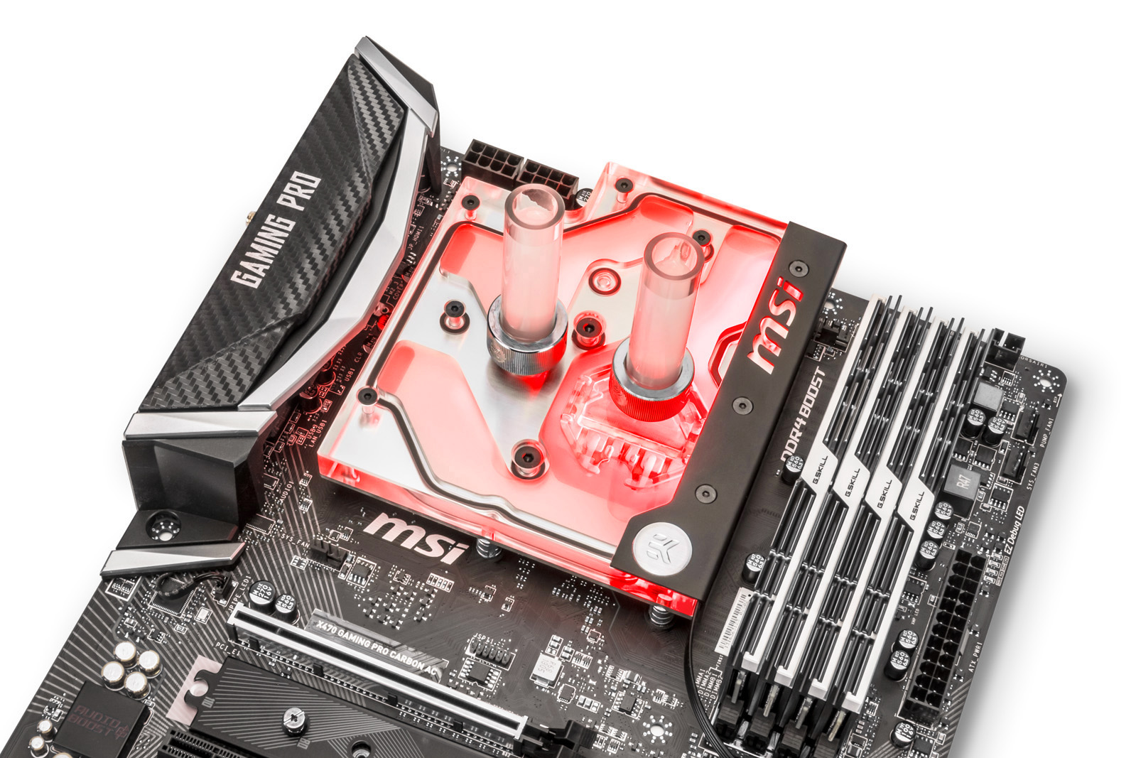 EK® is releasing a new AM4 monoblock for the MSI® X470 Gaming Pro