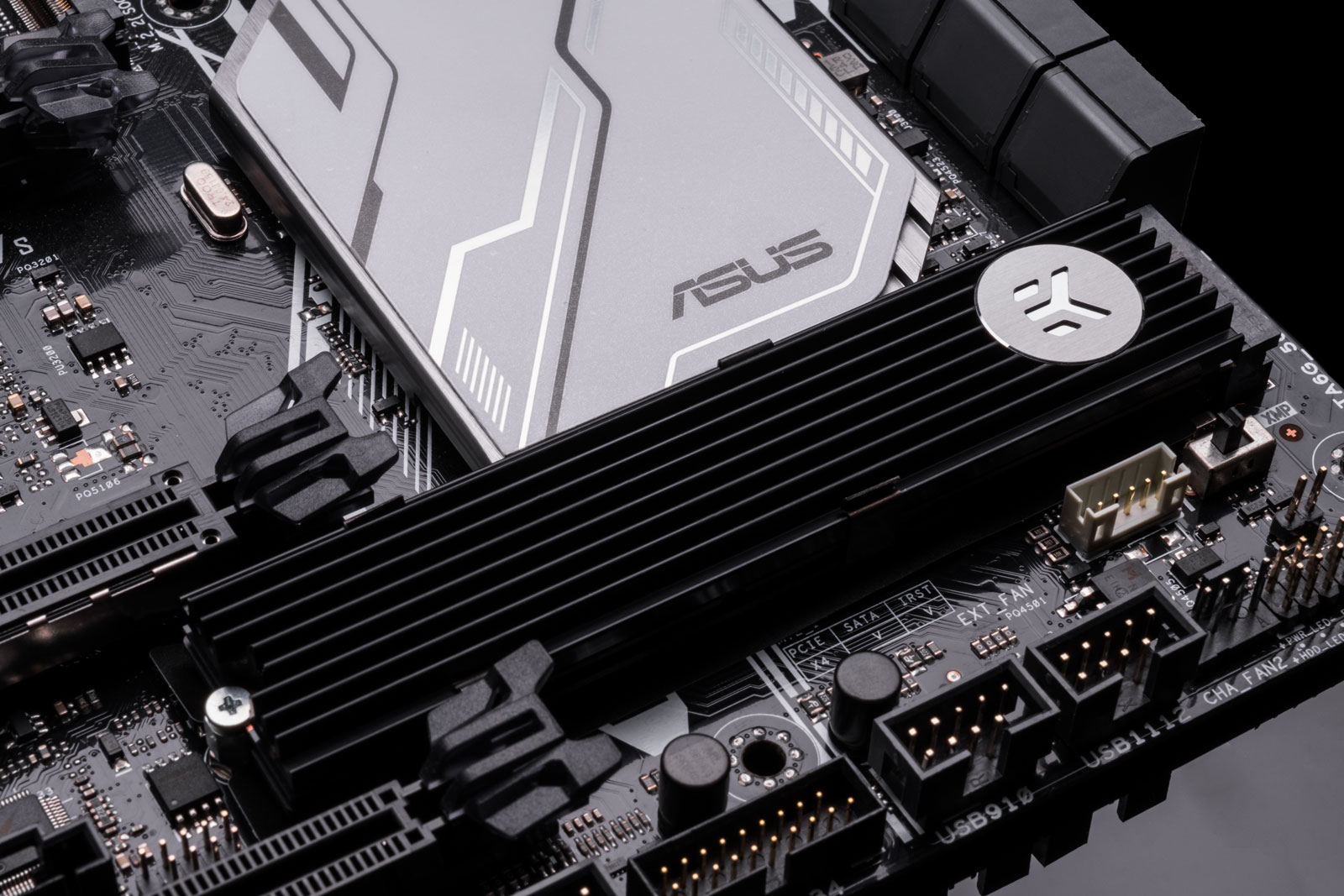 Intel optane heatsink