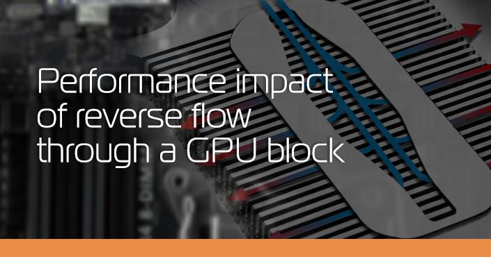 Reverse flow Vector GPU block