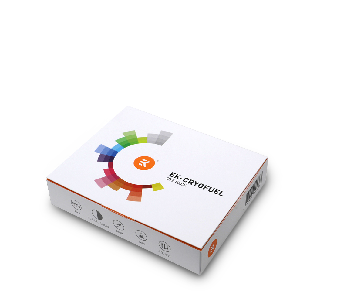 EK CryoFuel Dye pack