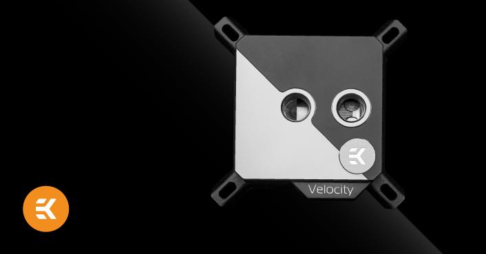 EK-Velocity Strike CPU Block for Intel and AMD CPUs - The
