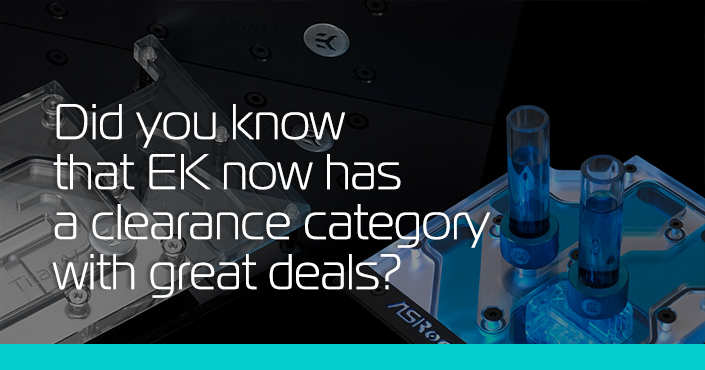 Did You Know That EK Has a Clearance Category with Non-Stop Deals?