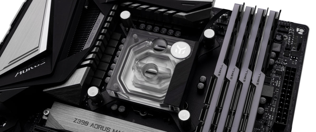 does rotating the water block improve temps 2
