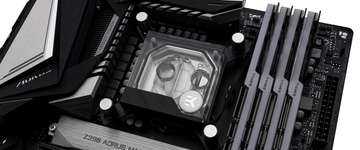 does rotating the water block improve temps 3