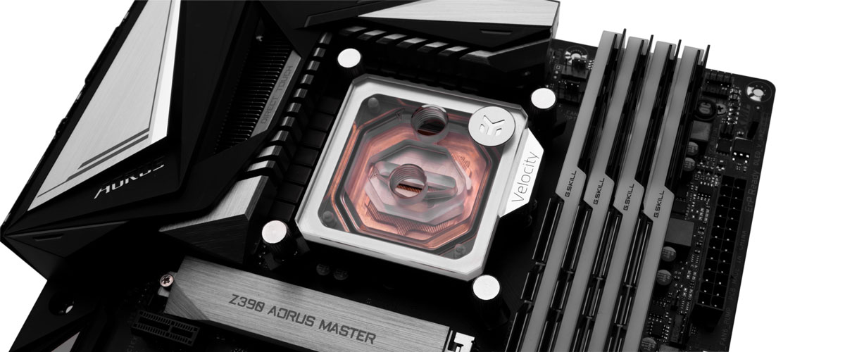 does rotating the water block improve temps 4