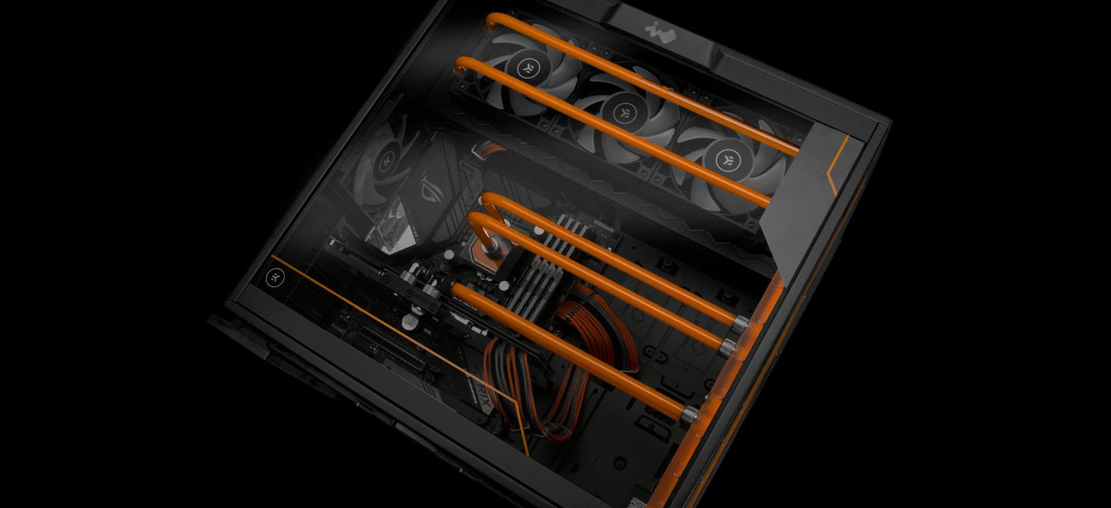 EK-Classic InWin 303EK water cooled case