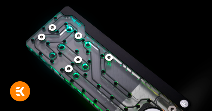 EK Reflection Fractal Design distro plate