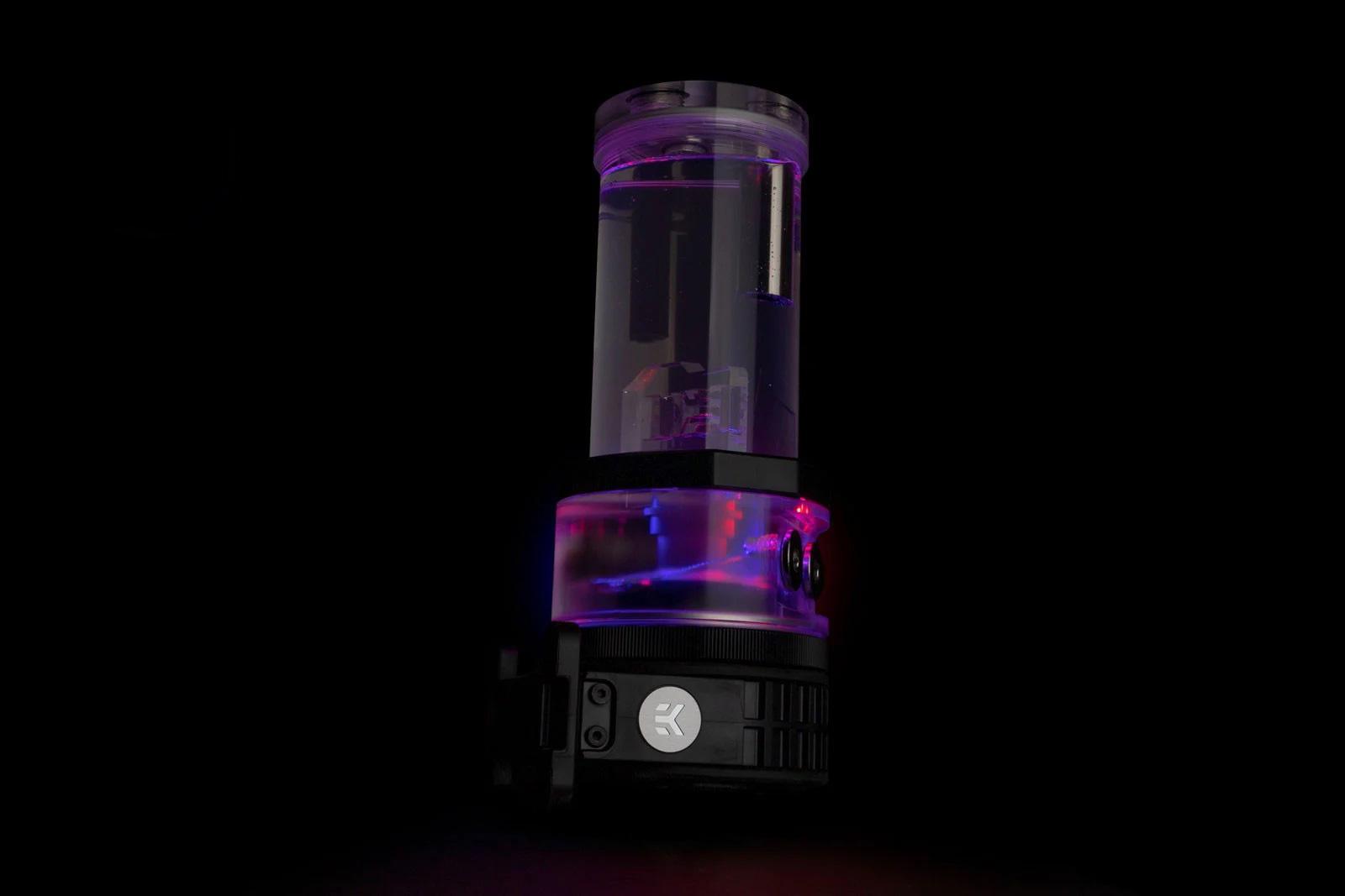 EK-Quantum Power Kit - Quantum Kinetic TBE 200 D5 PWM D-RGB - Plexi_art