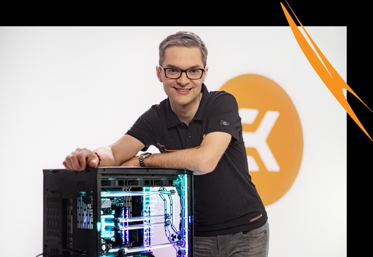 EXPO - Edvard König, EKWB founder