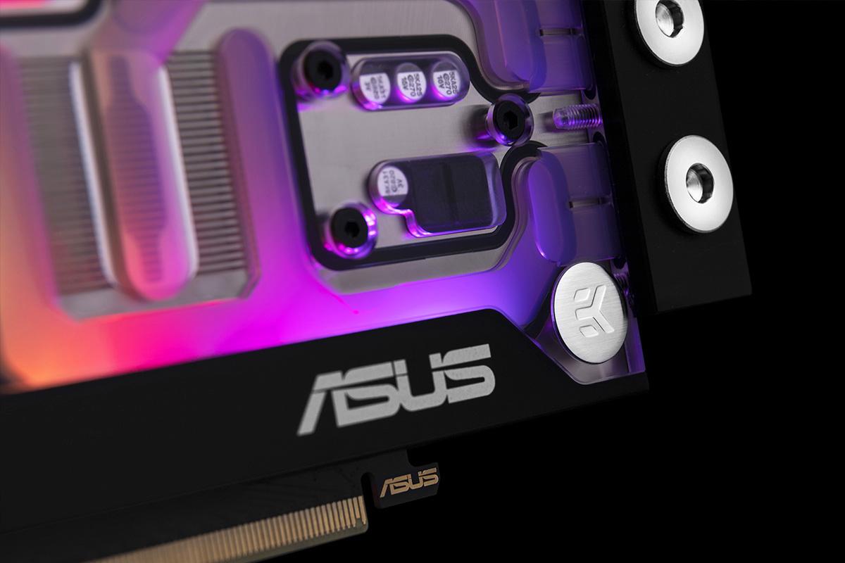 ASUS EKWB GeForce RTX 3070 Detail