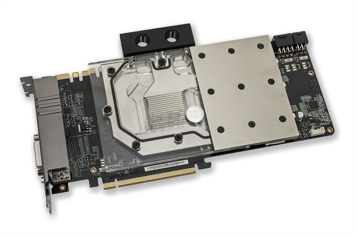 EK introduces two new custom PCB type GeForce® GTX 770 water