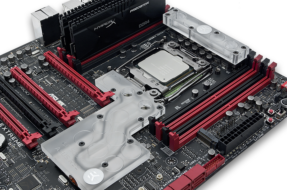 Asus Rampage V Extreme Water Block Kit Starts Shipping Motherboard Edition 10 Made In Slovenia Europe