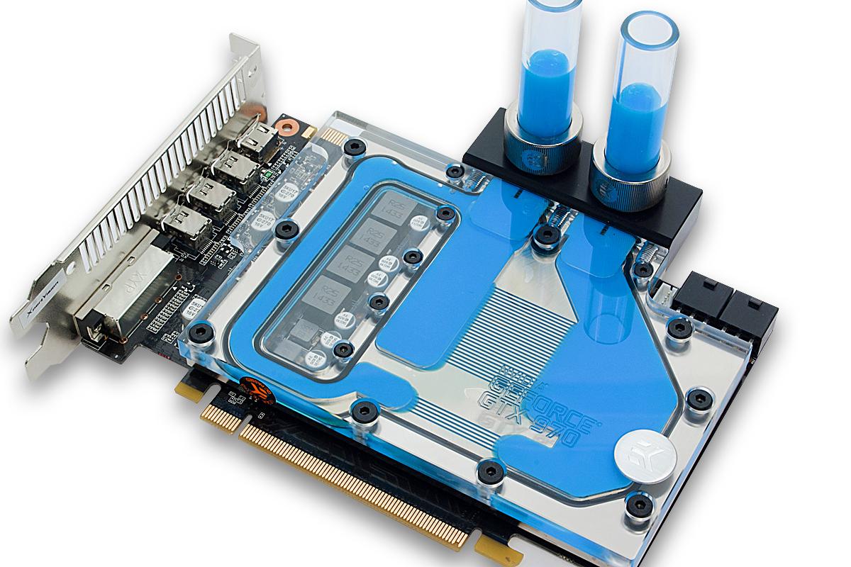 Ek Introduces Short Type Geforce 174 Gtx 970 Water Block