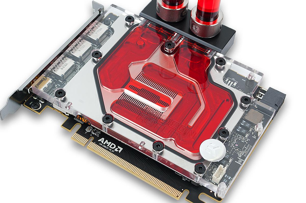EK releases AMD® Radeon® R9 Nano Full-Cover water block