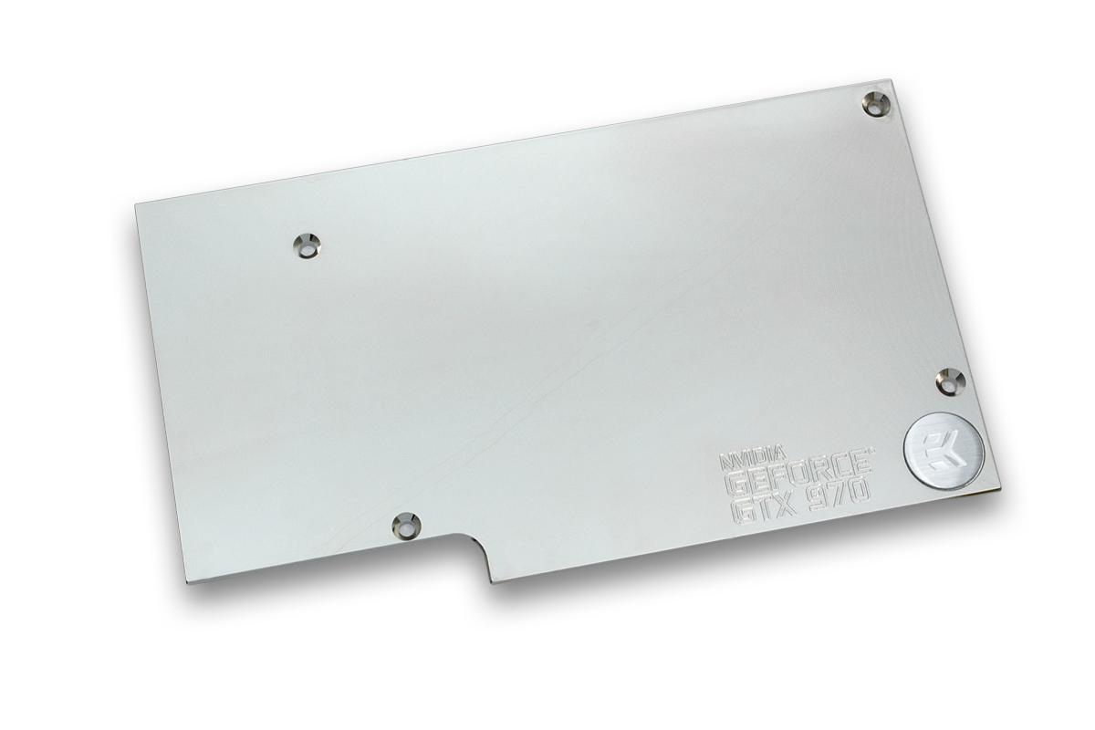 EK introduces short-type GeForce® GTX 970 water block - ekwb com